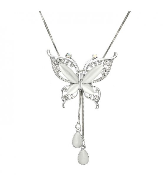 N2235 - Korean butterfly Studded Sweater Chain