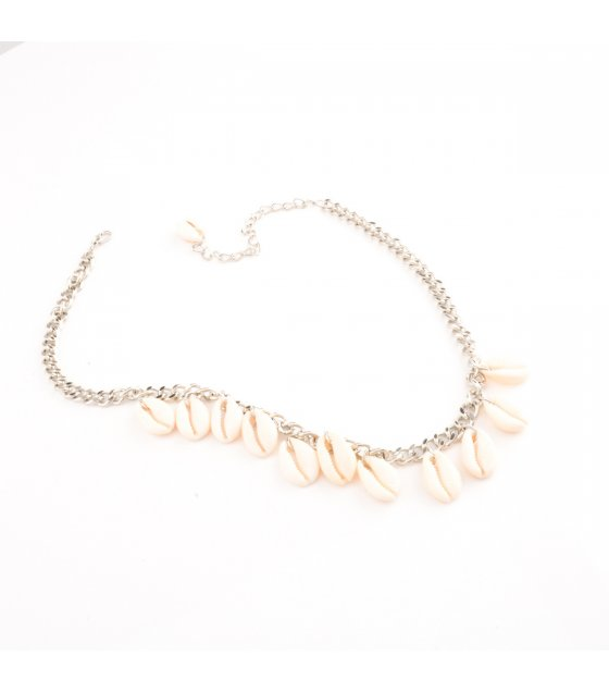 N2237 - Natural Geometric Necklace