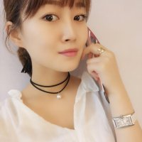 N2239 - Simple Geometric Fashion Korean Style Necklace