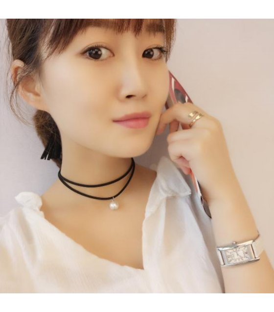 N2239 - Simple Geometric Fashion Korean Style Necklace