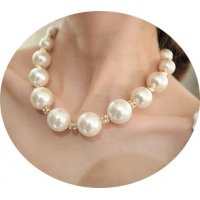 N2258 - Korean classic pearl necklace