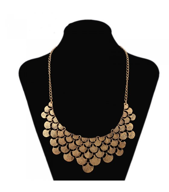 N2290 - Retro fashion necklace