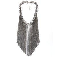 N2307 - Fashion Chunky Tassel Necklace