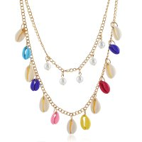 N2310 - Multi-layer shell Necklace
