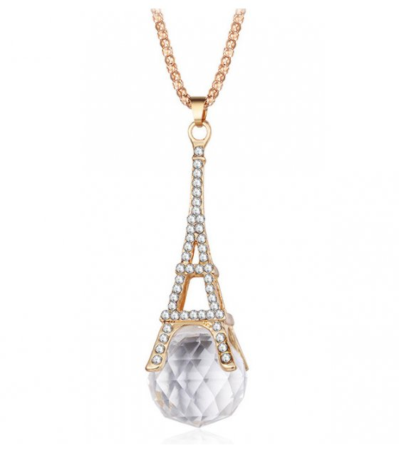 N2312 - Eiffel Tower crystal pendant