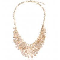 N2320 - Sequins tassel necklace