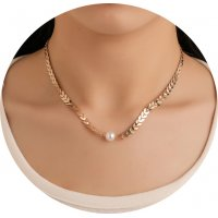 N2322 - Sequined short necklace