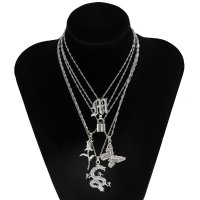 N2328 - Retro Layered Necklace