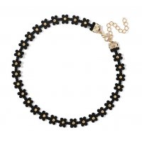 N2330 - Korea choker collar simple clavicle necklace