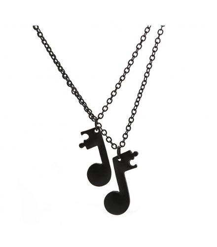 N2337 - Musical Note Necklace