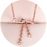N2353 - Elegant temperament tassel pendant necklace