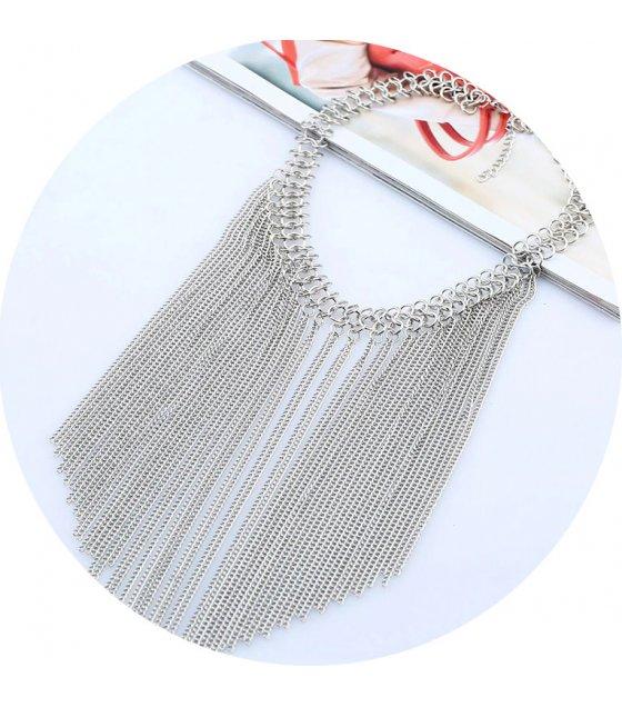 N2367 - Fashion Chunky Tassel Necklace