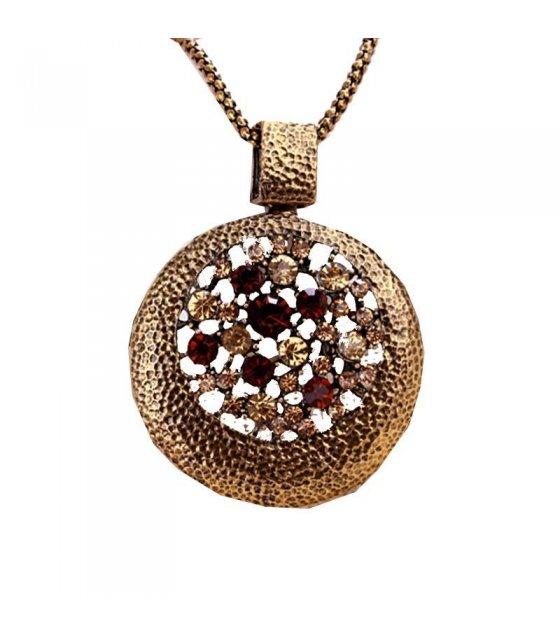 N252 - Wild round hollow Necklace
