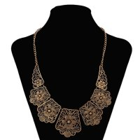 N950 - Bronze Multi-layered Necklace