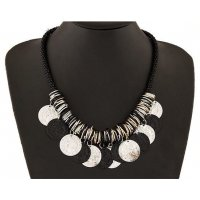 N976 - Silver Beaded Necklace