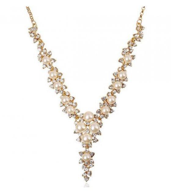 N998 - Luxury flash diamond pearl
