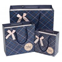 PKG008 - Plaid gift bag
