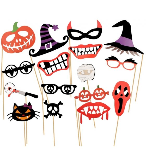 PS006 - Halloween Decoration Photo Booth Props