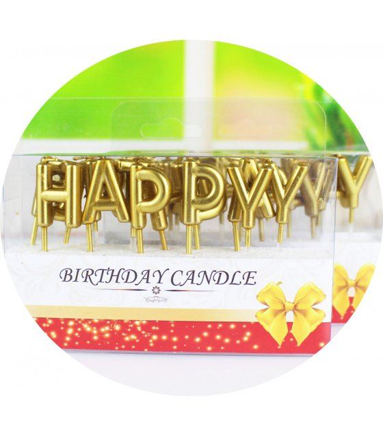 PS016 - Happy Birthday Candle