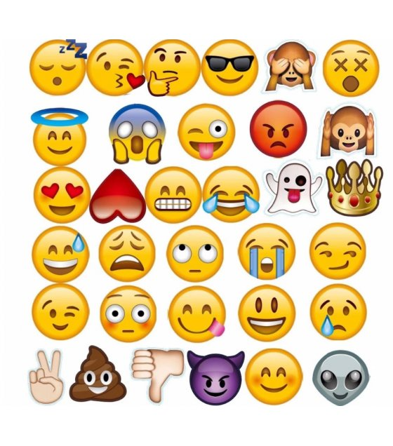 PS047 - Fun Emotion Emoji Photo Booth Props