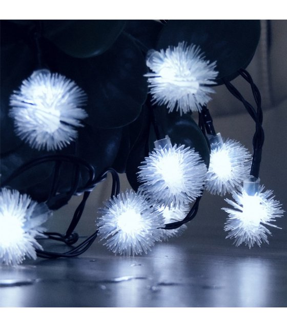 PS076 - Solar 30LED Snowflake Garden String Light