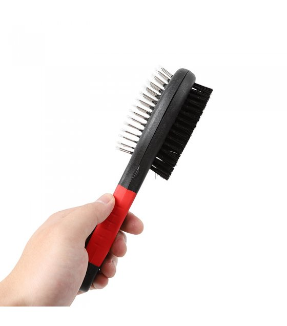 PT012 - Two Sided Pet Grooming Brush