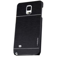 PA005 - Samsung Galaxy Note 4 Brush metal Back Cover