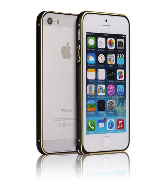 PA009 - Apple Iphone 5/5S  Ultra Thin Slim Aluminium Metal Bumper  Frame Cover