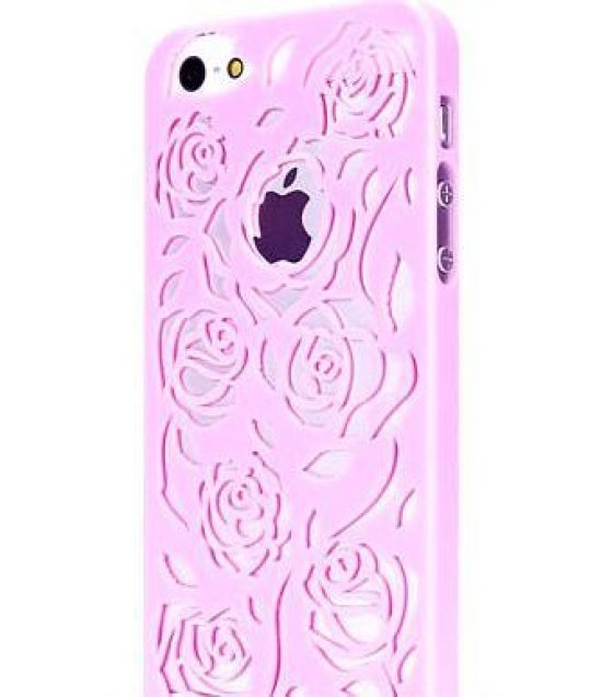 PA015 - Apple Iphone 5/5S Hollow Rose Back Cover