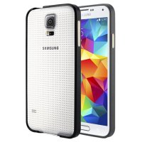 PA018 - Samsung  Galaxy S5 Ultra Thin Metal Luxury Aluminum Bumper Case