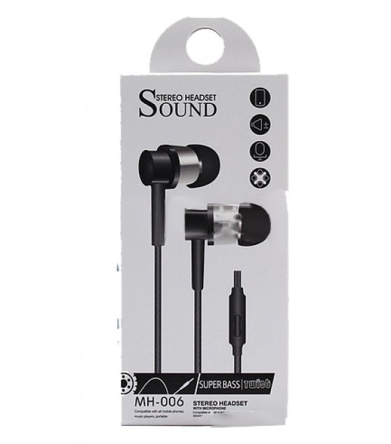 PA202 - Philips SHE9100 Black Edition  Earphones