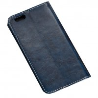 PA226 - Apple Iphone 6/6S Leather Blue  Wallet Flip Case