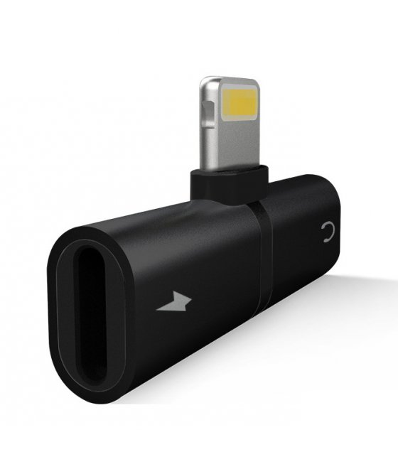 PA291 - Iphone Lightning 2 In 1 Headphone Adapter