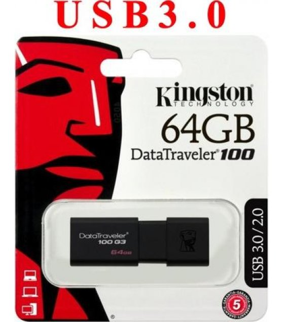 PA301 - Kingston DT100G3/64GB DataTraveler