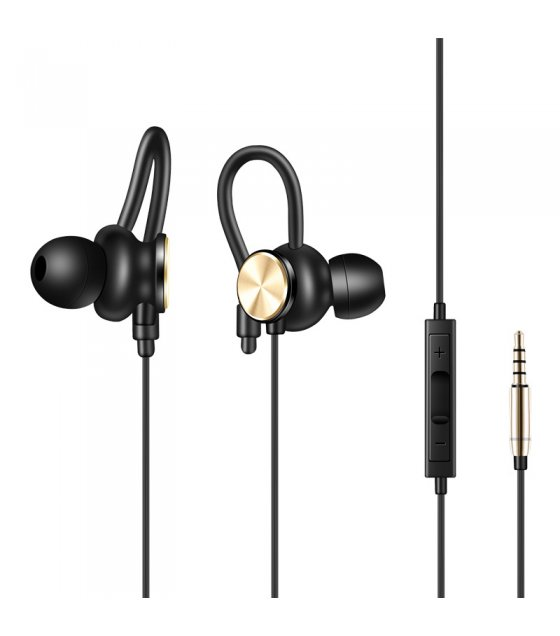 PA316 - Caldecott 3.5mm Earphones with Volume Adjustment & Stereo Sound