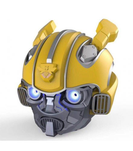 PA329 - YIFAFA Bumblebee Helmet Bluetooth Speakers Portable Mini Wireless Speaker