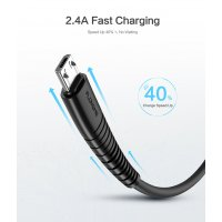 PA335 - Floveme  Micro USB Charging Cable Data Sync Charger Cord for Android