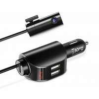 PA347 - FLOVEME 5V 3.1A Dual USB Car Charger Adapter