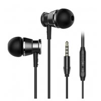 PA362 - Metal Bass Wired Headphone 3.5MM In-ear Earphones with Microphone