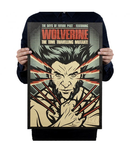 PO004 -wolverine Poster