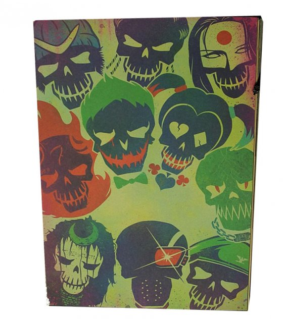 PO007 -suicide squad illustrated Poster