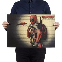 PO009 -Deadpool Chimichanga Poster