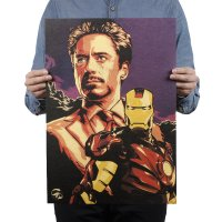 PO013- Tony Stark Iron Man Poster