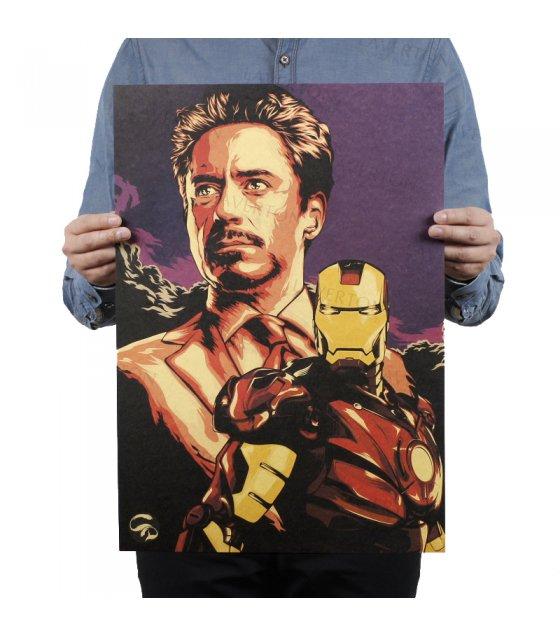 PO013- Tony Stark Iron Man Poster