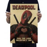 PO025 -DeadPool Love sign Poster