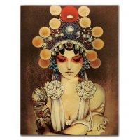 PO031 - Vintage Girl Poster