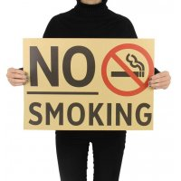PO032 -No Smoking Poster
