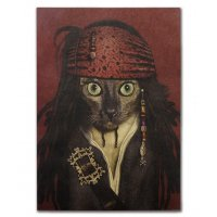 PO039 -Jack Sparrow cat Poster