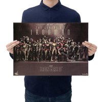 PO041 -The Armors of Iron Man Poster