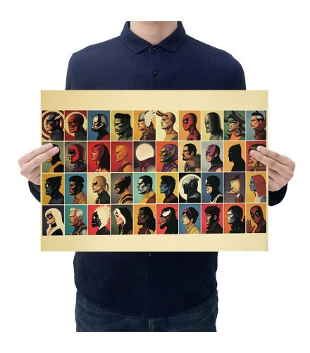 PO043 -Marvel Heroes and Villains Poster